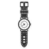 Hand watch icon stock illustration