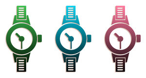 Hand watch set Royalty Free Stock Photography