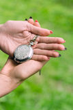Hand and watches Stock Photography
