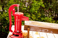 Hand Water Pump Stock Image