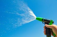 Water spray jet stock image