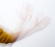Hand waving Royalty Free Stock Photography