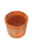 Hand Weave Wicker Basket Stock Photography