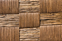 Hand Weaved Basket Texture Stock Photography