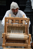 Hand weaving Stock Photos