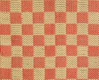 Hand weaving fabric texture. Loom Stock Photo