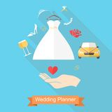 Hand and wedding Royalty Free Stock Image
