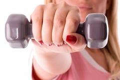 Hand weight Stock Photos
