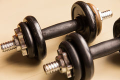 Hand weights Royalty Free Stock Image