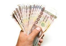 Hand were holding money Royalty Free Stock Image