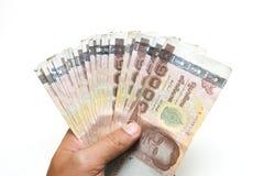 Hand were holding money Royalty Free Stock Photo