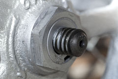 Hand wheal of valve Stock Photography