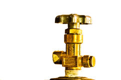 Hand wheel valve Royalty Free Stock Images