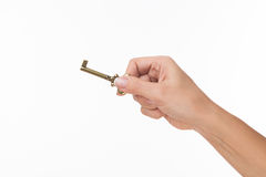 Free Hand With Old Key Stock Photo - 52479510