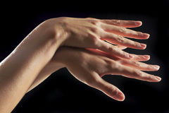 Hand of woman Royalty Free Stock Image