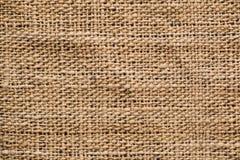 Hand-woven φυσική σύσταση υφάσματος Στοκ Εικόνα