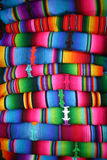 Hand woven blankets Royalty Free Stock Image