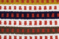 Hand woven carpet Royalty Free Stock Photos