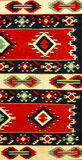 Hand woven carpet. Old handmade carpet inlaid pattern background Stock Photo