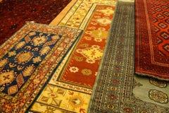 Hand woven carpets Royalty Free Stock Photos