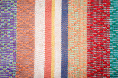 Hand woven cloth Stock Image