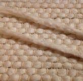 Hand woven cotton rug Stock Photography