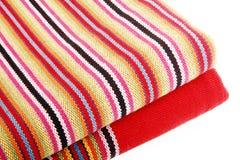 Hand-woven doek Stock Foto