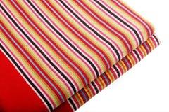 Hand-woven doek Royalty-vrije Stock Afbeeldingen