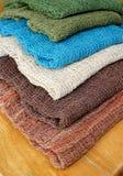 Hand woven fabrics Royalty Free Stock Photo