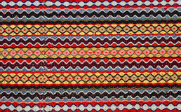 Hand woven kilim pattern royalty free stock photography