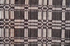 Hand woven kilim pattern Royalty Free Stock Image