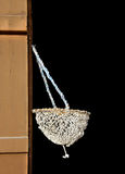 Hand woven pearl Oyster collection bag Royalty Free Stock Image