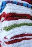 Hand woven shawls in Kashmir. Stock Photography