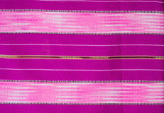 Hand woven Thailand fabric Stock Photo