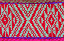Hand woven traditional Lanna. Of northern Thailand Stock Photos
