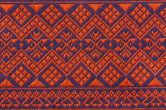 Hand woven traditional Lanna. Of northern Thailand Royalty Free Stock Photos