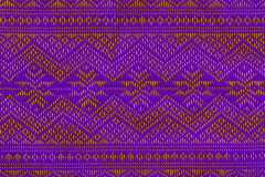 Hand woven traditional Lanna. Of northern Thailand Royalty Free Stock Photography