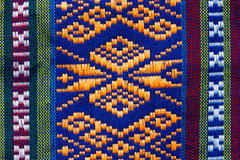 Hand woven traditional Lanna Royalty Free Stock Photography