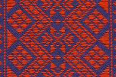 Hand woven traditional Lanna . Royalty Free Stock Photo