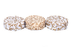 Hand wrapped soap bars Royalty Free Stock Photography