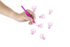Hand write Stock Photo