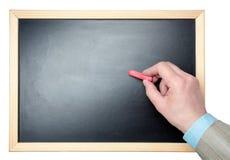 Hand writing Stock Image