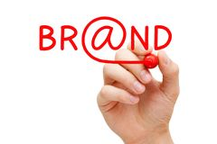 Online Brand Concept Stock Images