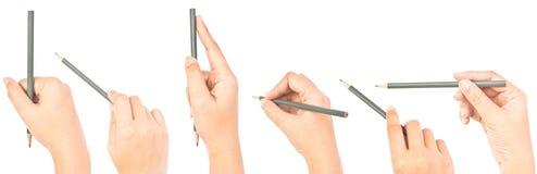 Hand writing symbol isolated. Stock Image