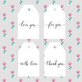 Hand written calligraphy style short messages set. Stock Images