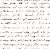 Hand written letter - seamless text Lorem ipsum. Repeating pattern. Vintage hand written letter - seamless text Lorem ipsum. Repeating note pattern, handwritten vector illustration