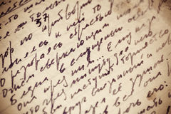 Hand written texture Royalty Free Stock Photography