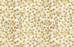 Hand-Zeichnung Blumenverzierung. Lizenzfreies Stockbild