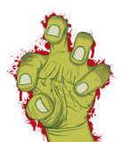 Hand of zombie Royalty Free Stock Image
