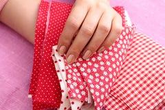 Handarbete patchwork Royaltyfria Foton